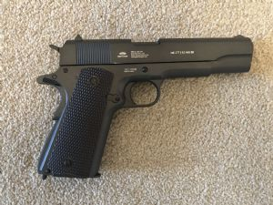 Gletcher .177 Colt  1911 RAF commemorative